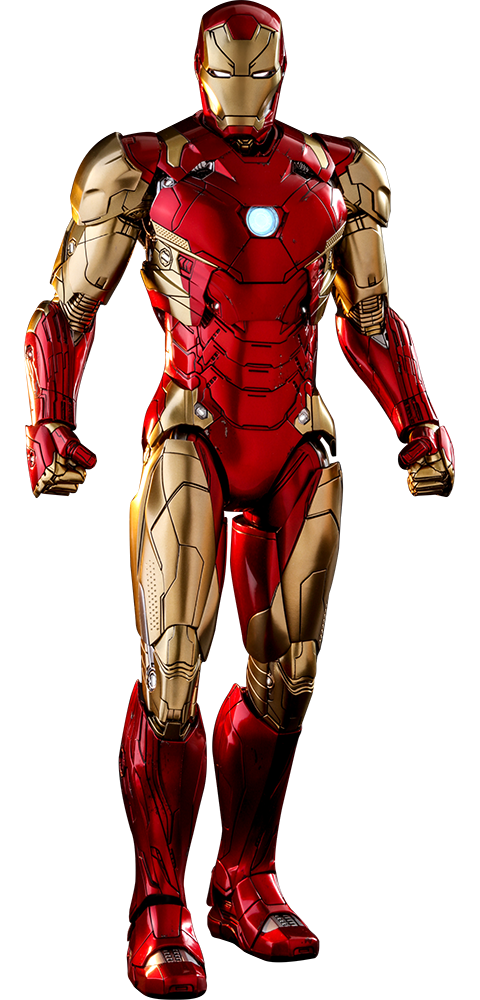 marvel iron man mark xlvi concept art sixth scale figure #25695
