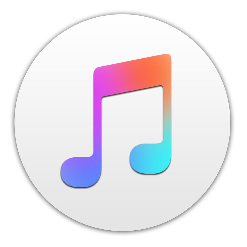 itunes png logo transparent pictures
