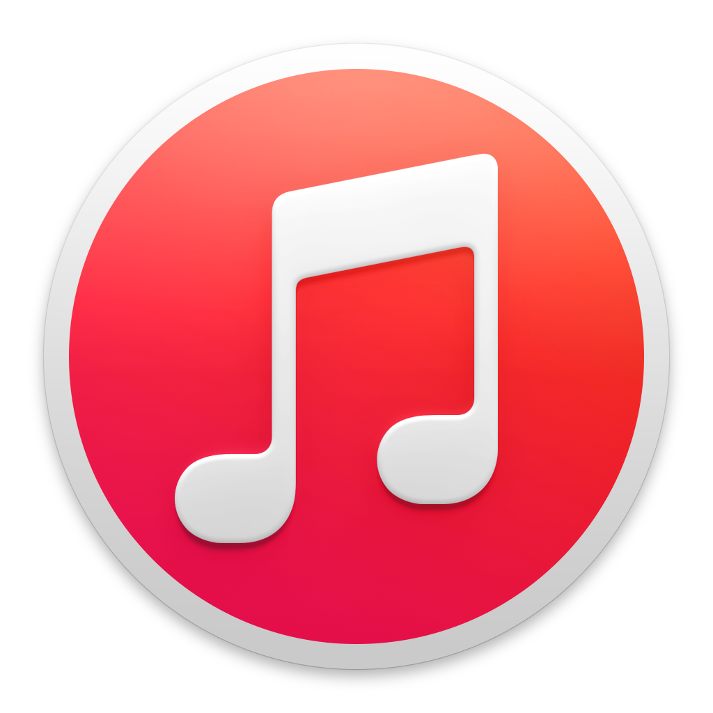 red itunes wikipedia png logo #2811