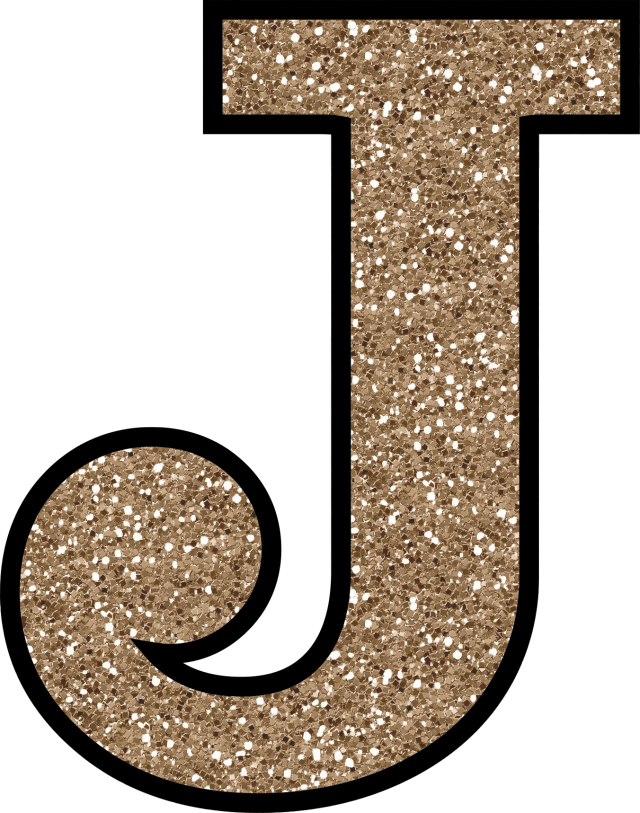 j letter glitter without the glue digital printable alphabet #37748