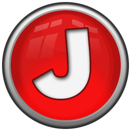 j letter letter icon red orb alphabet iconset icon archive #37772
