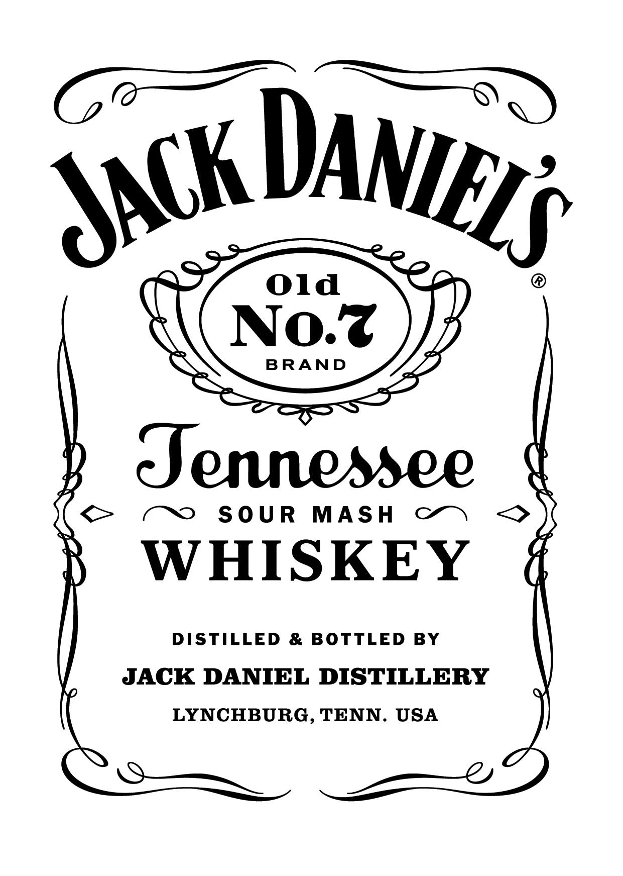 Jack Daniels Logo Large png
