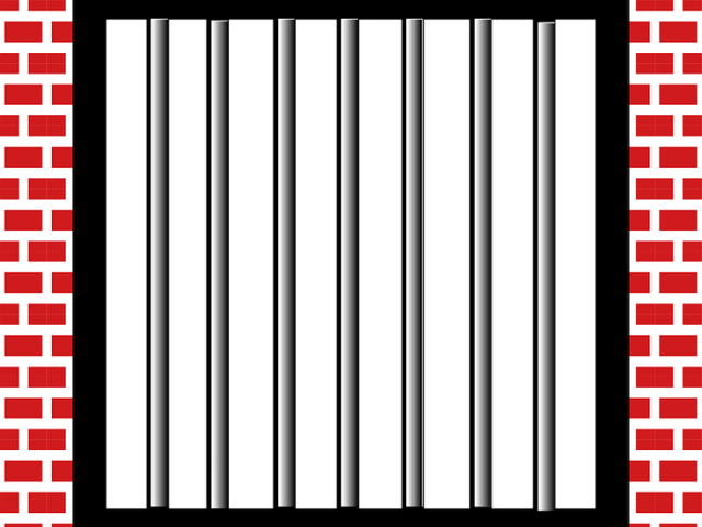 jail bars pictures star download clip art clip #36559