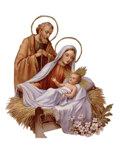 mary joseph and jesus transparent png stickpng #15212