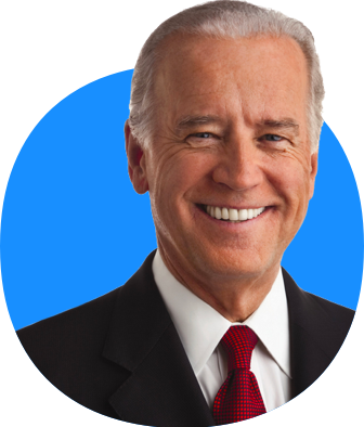 joe biden circle transparent photo #40987