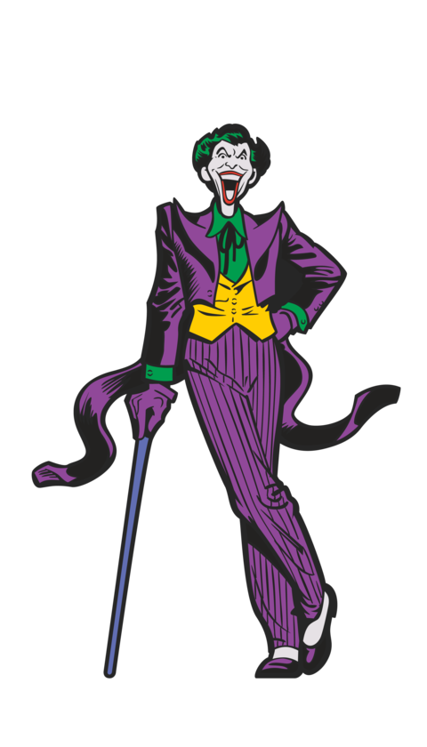 joker, figpins collectible enamel pin and displayable character #21050