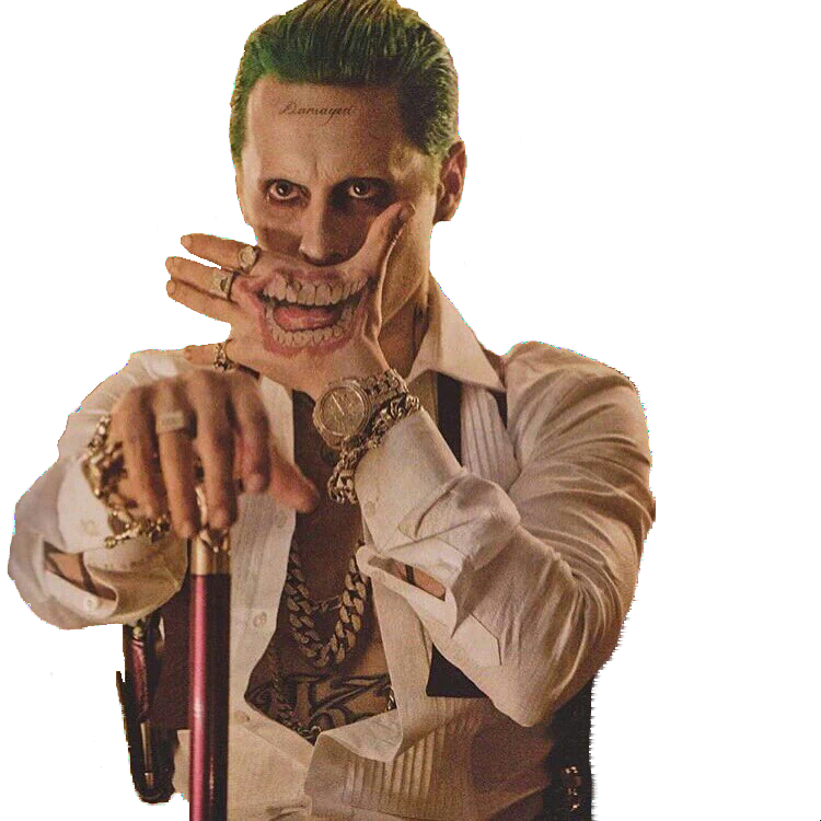 png coringa jared leto joker png world #21113