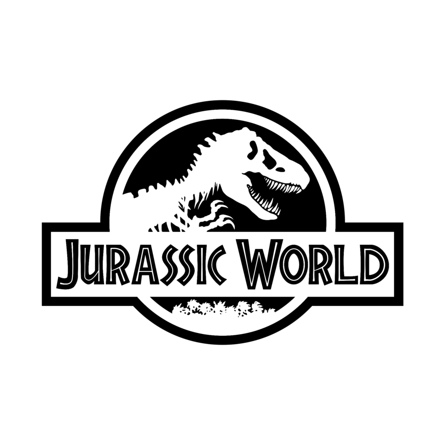 jurassic park logo clipart png
