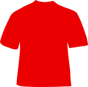 kaos polos merah, shirt back view clipart best #32553