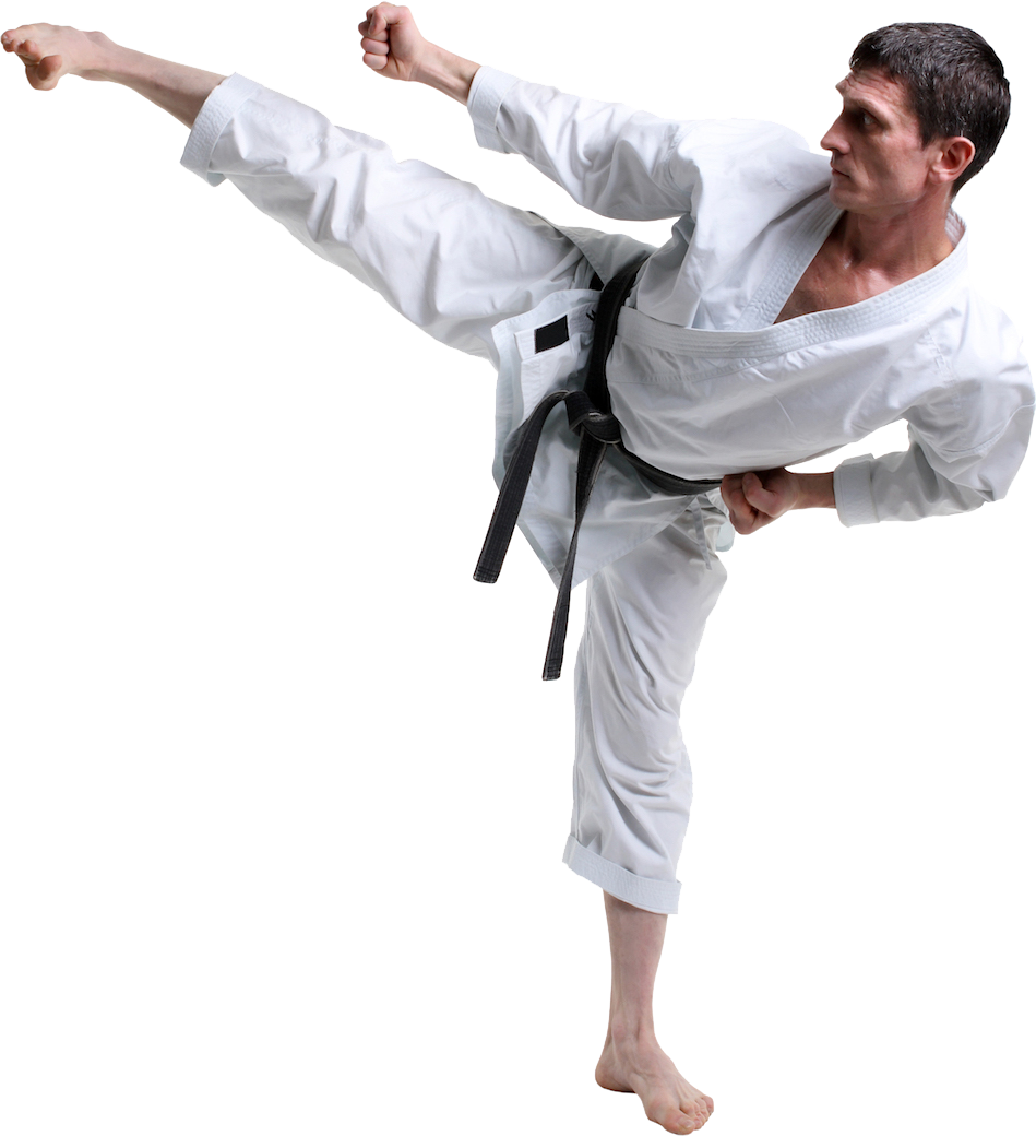 karate png image collection download #34595