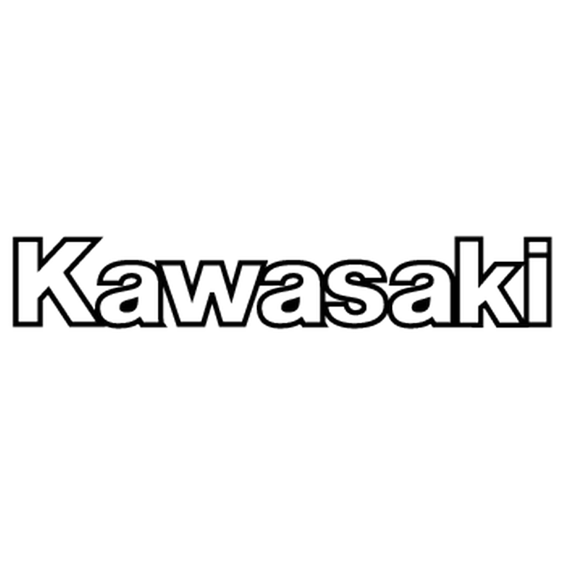 kawasaki logo outline sticker png #5714