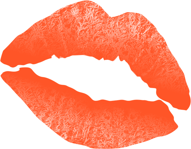 illustration kiss mouth lips text hugs #12063