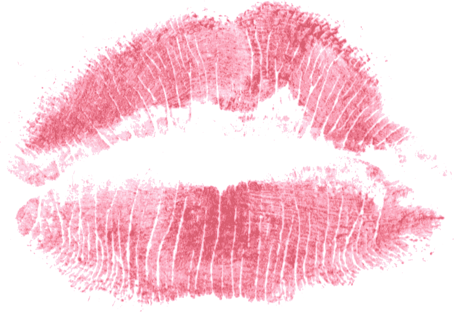 red print kiss lips png transparent #12046