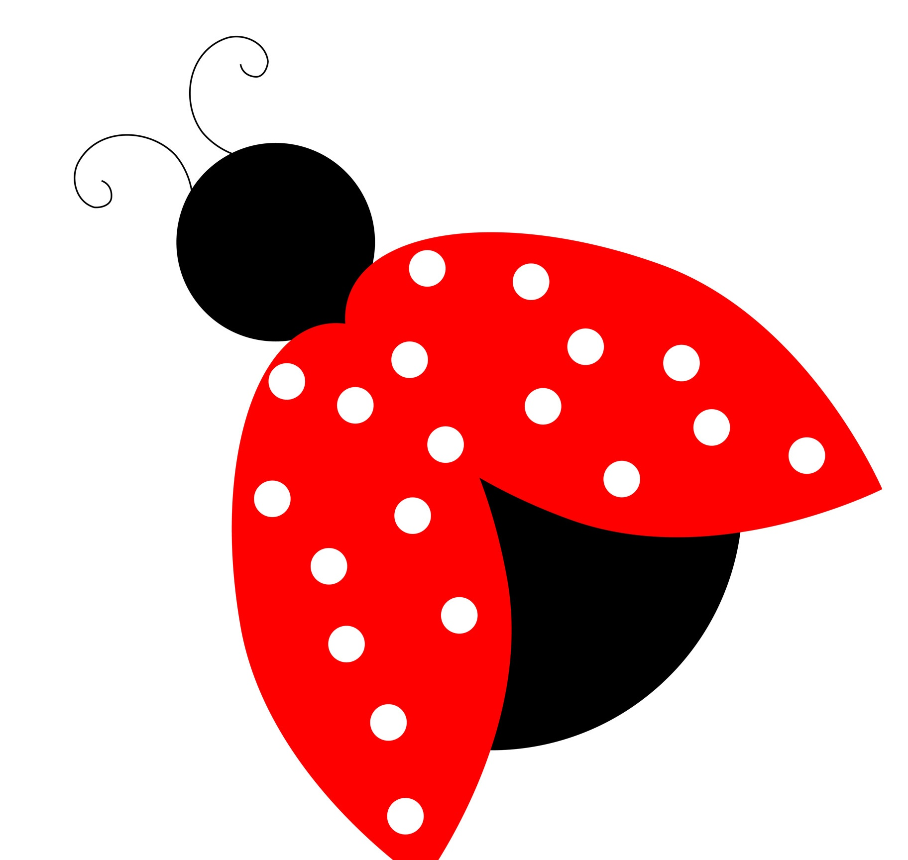 ladybug clipart, bugs clipart ladybug pencil and color bugs clipart #32095
