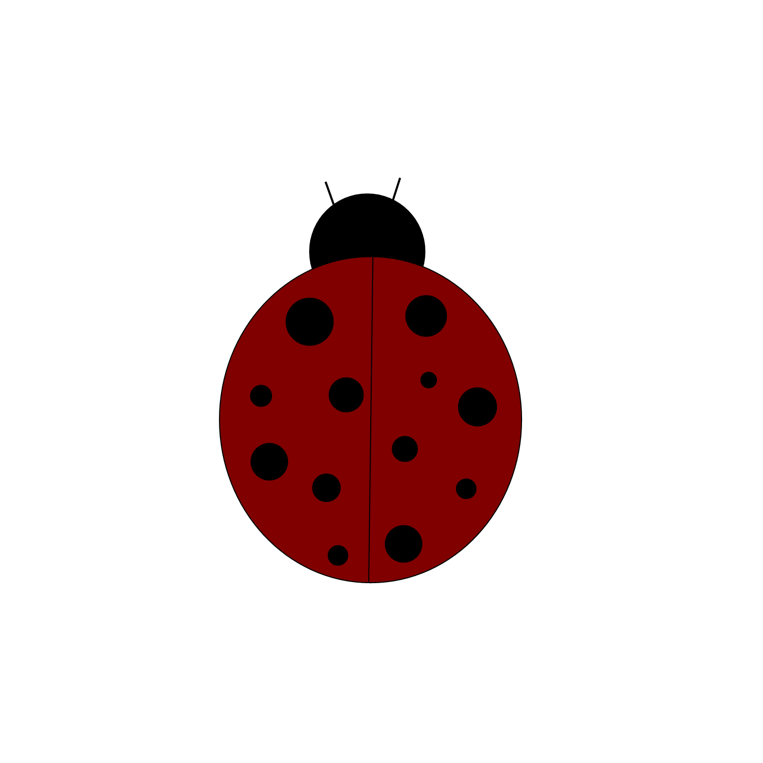 ladybug clipart, clipart images october #32082