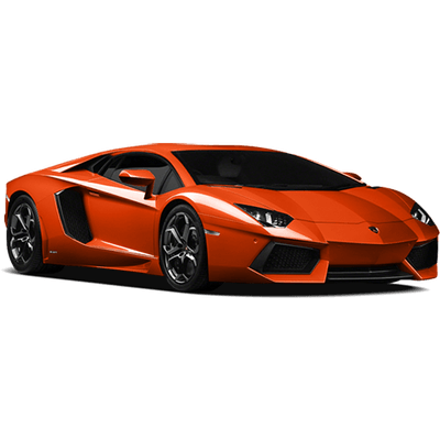 orange lamborghini transparent png stickpng #25638