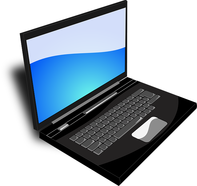 laptop computer business vector graphic pixabay #10715