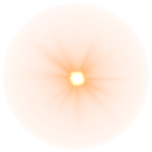 orange lens flare images 6936