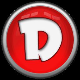 Letter D logo circle png #1390