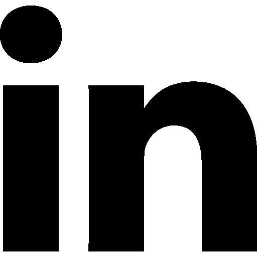linkedin logo black png 1836 free transparent png logos