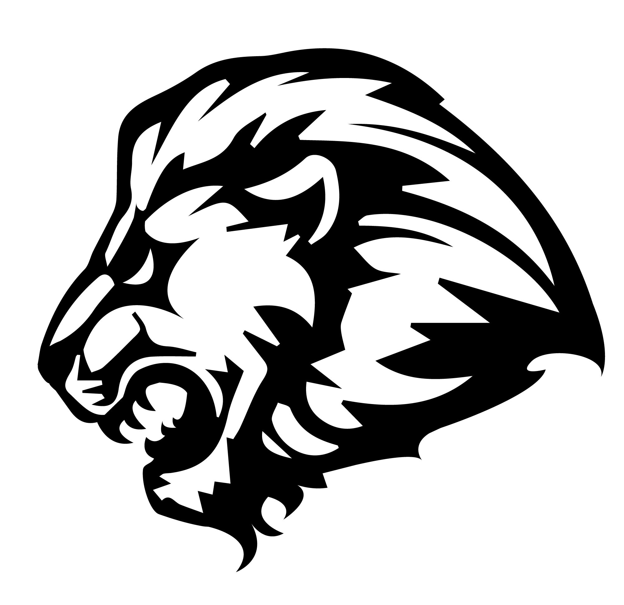 lion lfcc logo files lord fairfax community college #33379
