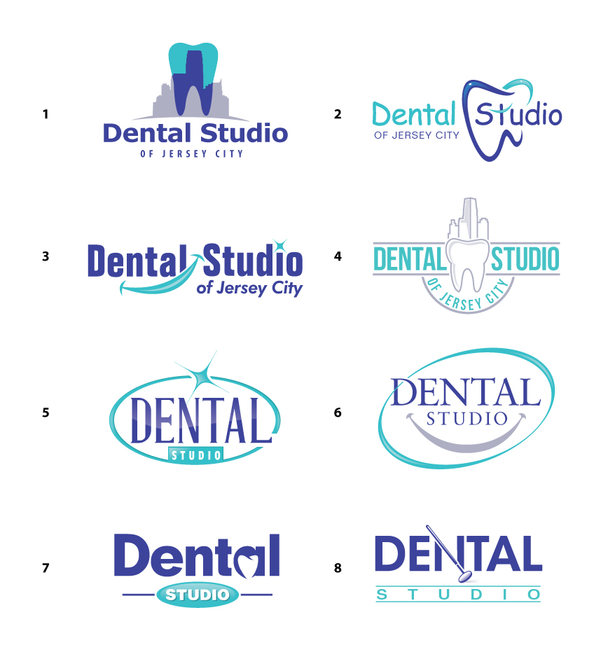dentist logo design samples mdesign media #32159