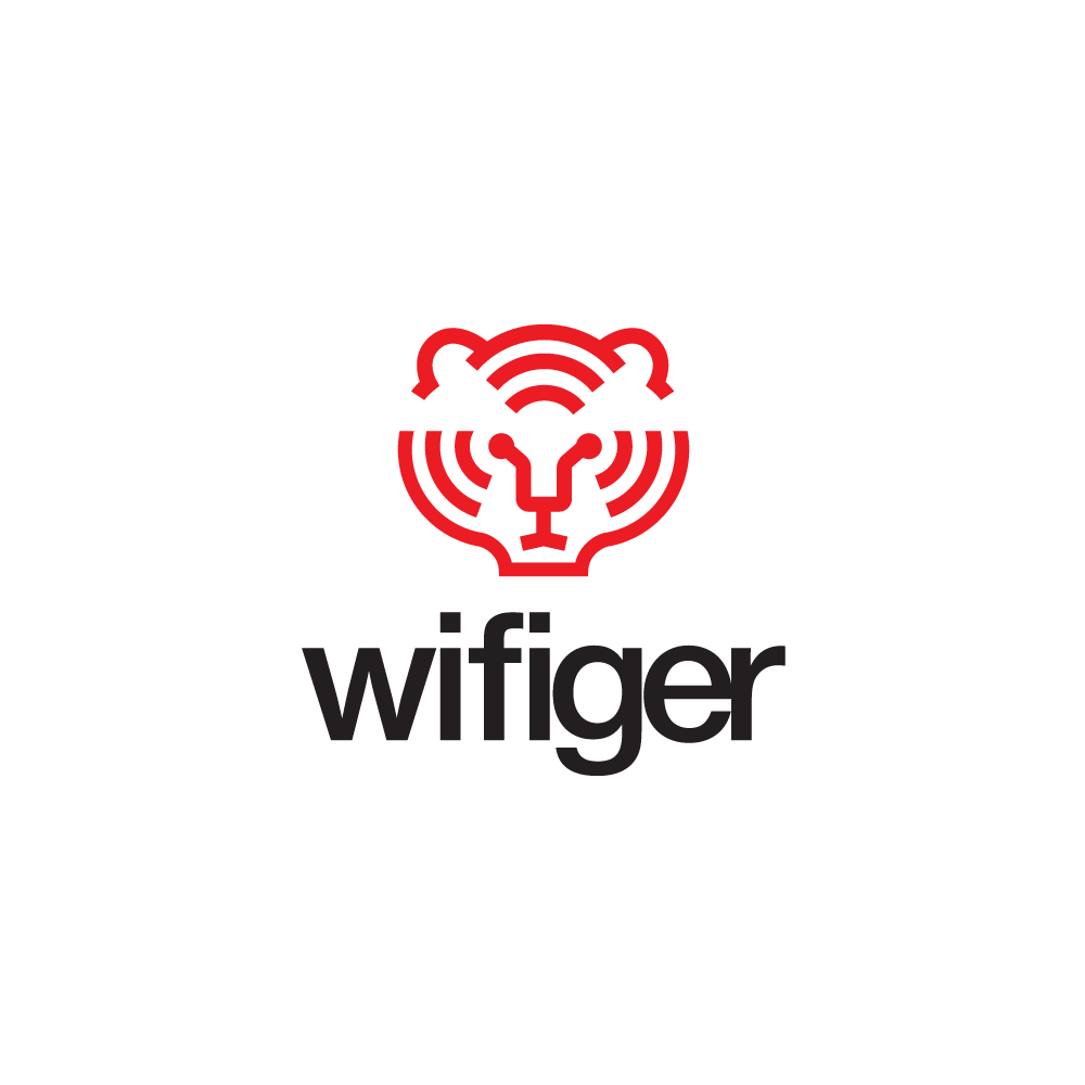 for sale wifi tiger logo design logo cowboy #32164