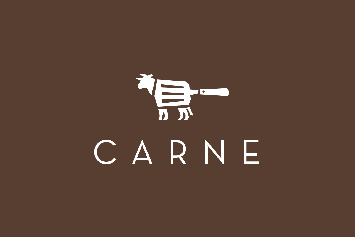 sold carne steak house logo design logo cowboy #32170
