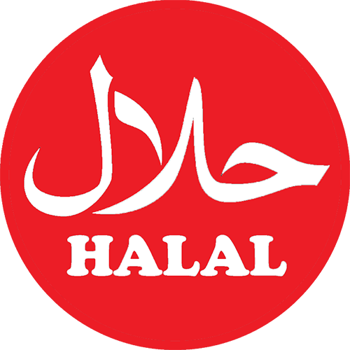 red halal logo png #7482