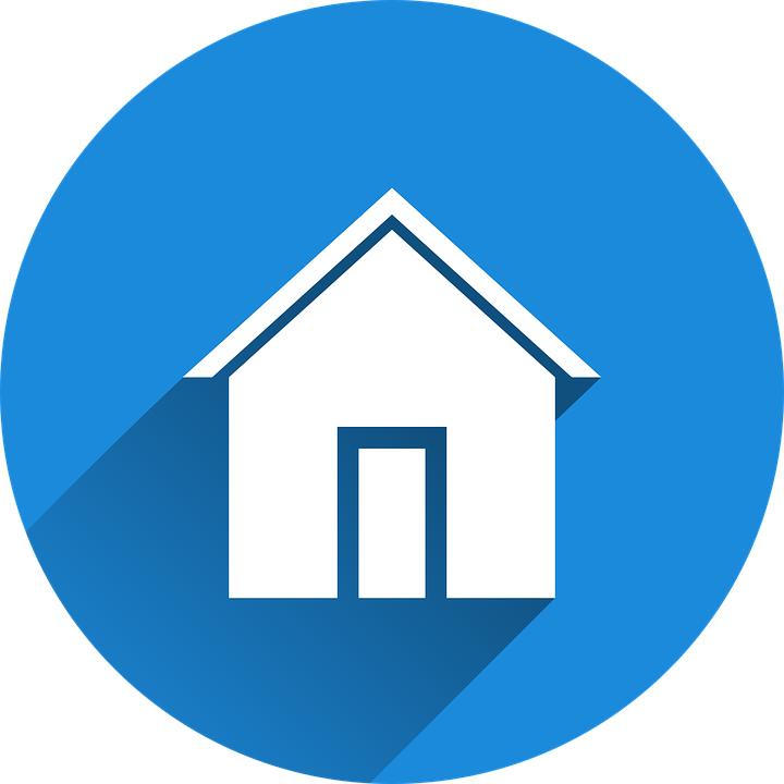 home start blue logo icon