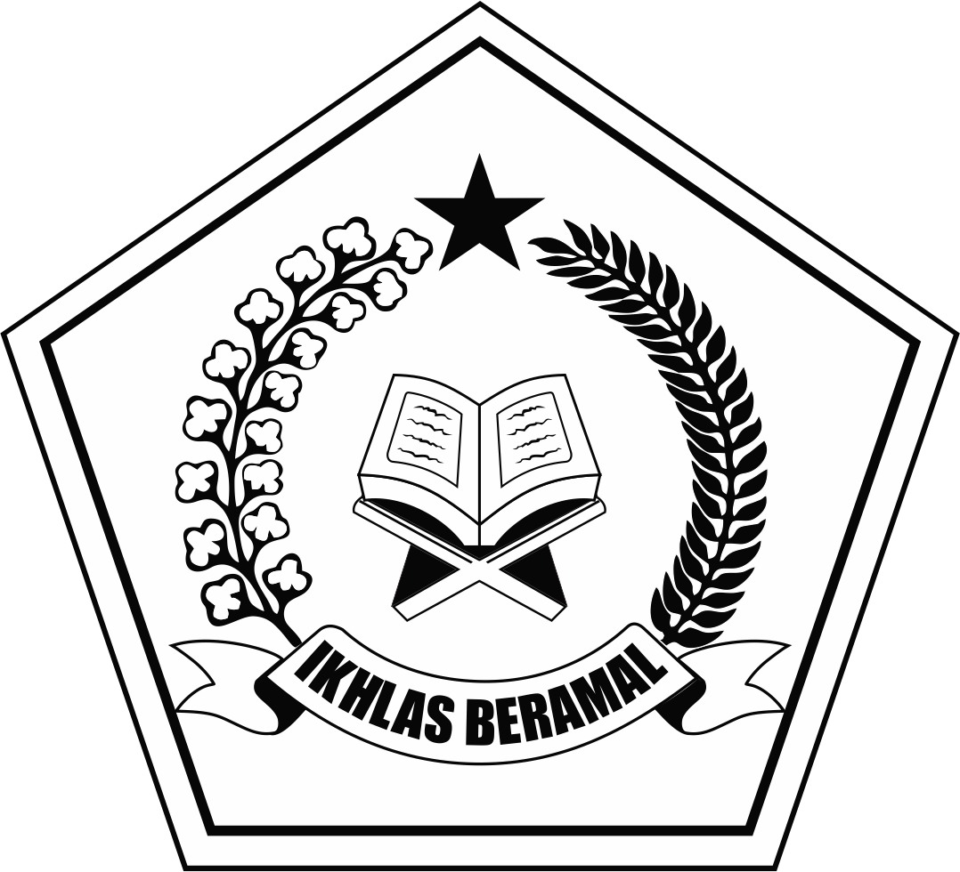 black and white ikhlas beramal logo depag png transparent png logos #32926