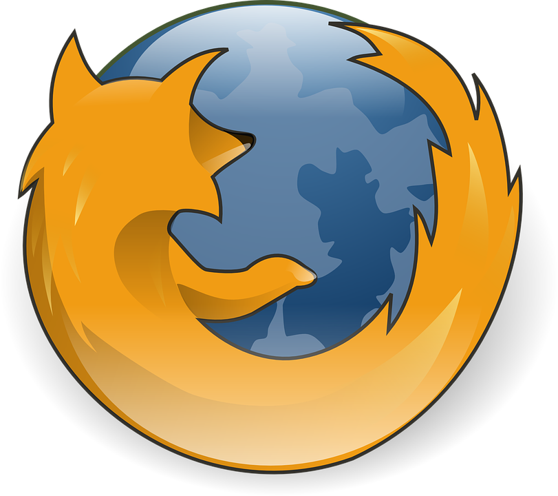 logo internet, firefox browser logo vector graphic pixabay #26077