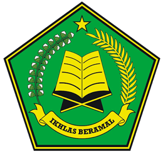 logo kemenag green shape #7673