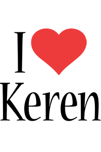 I love keren logo kiddo love colors style 7586
