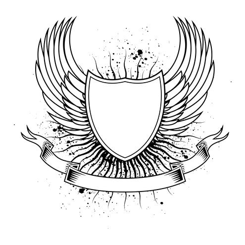 Great White Shark Drawing Logo Keren Png - Free ...