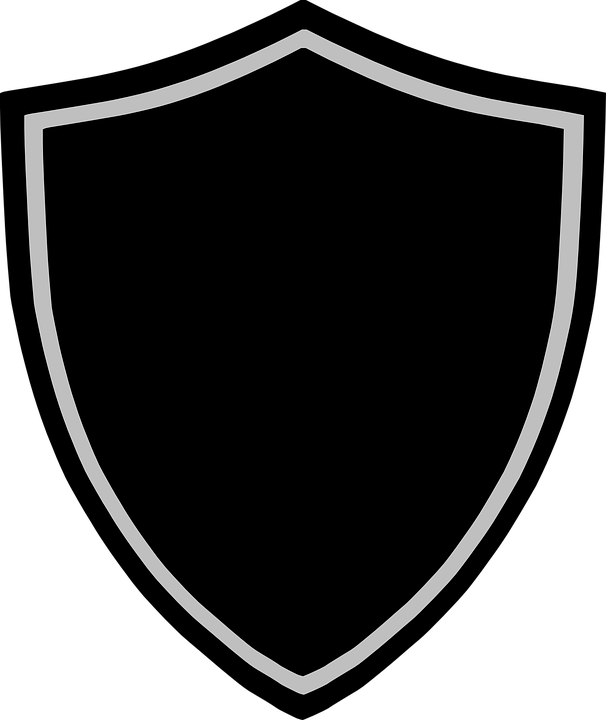 shield badge logo vector graphic 7593