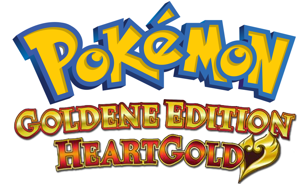 logo pokemon goldene edition heartgold png #1448
