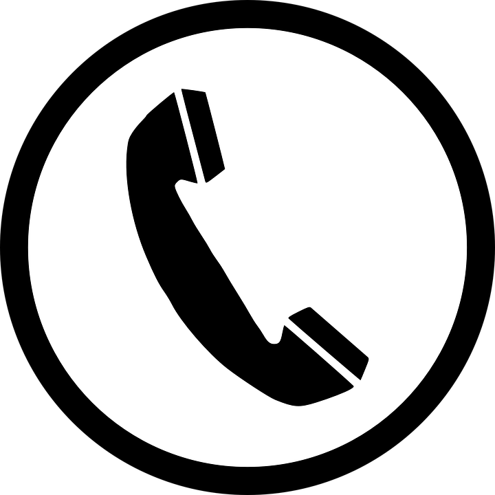 phone telephone communication vector graphic #7735