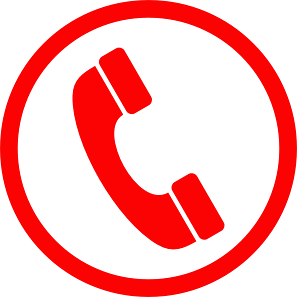 telephone symbol images clkerm vector clip