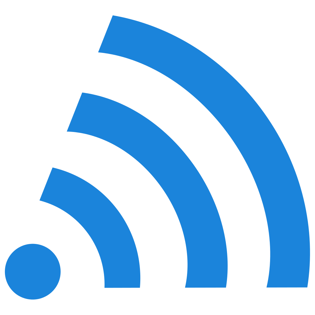 blue wifi icon #13670