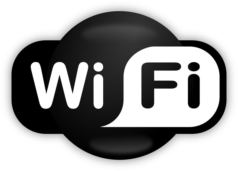 logo wifi, wifi access internet vector graphic #13668