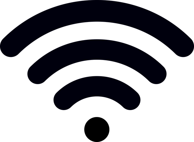 wifi symbol vector graphic #13676