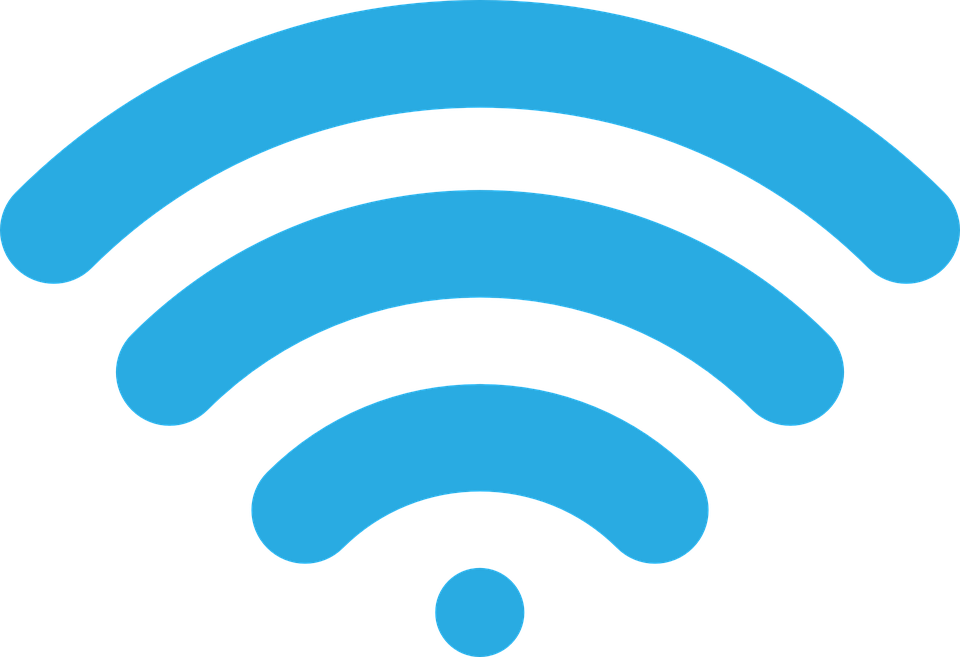 wireless signal icon image vector graphic pixabay #13666