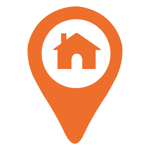 lokasi logo house location marker icon transparent png svg vector #25379