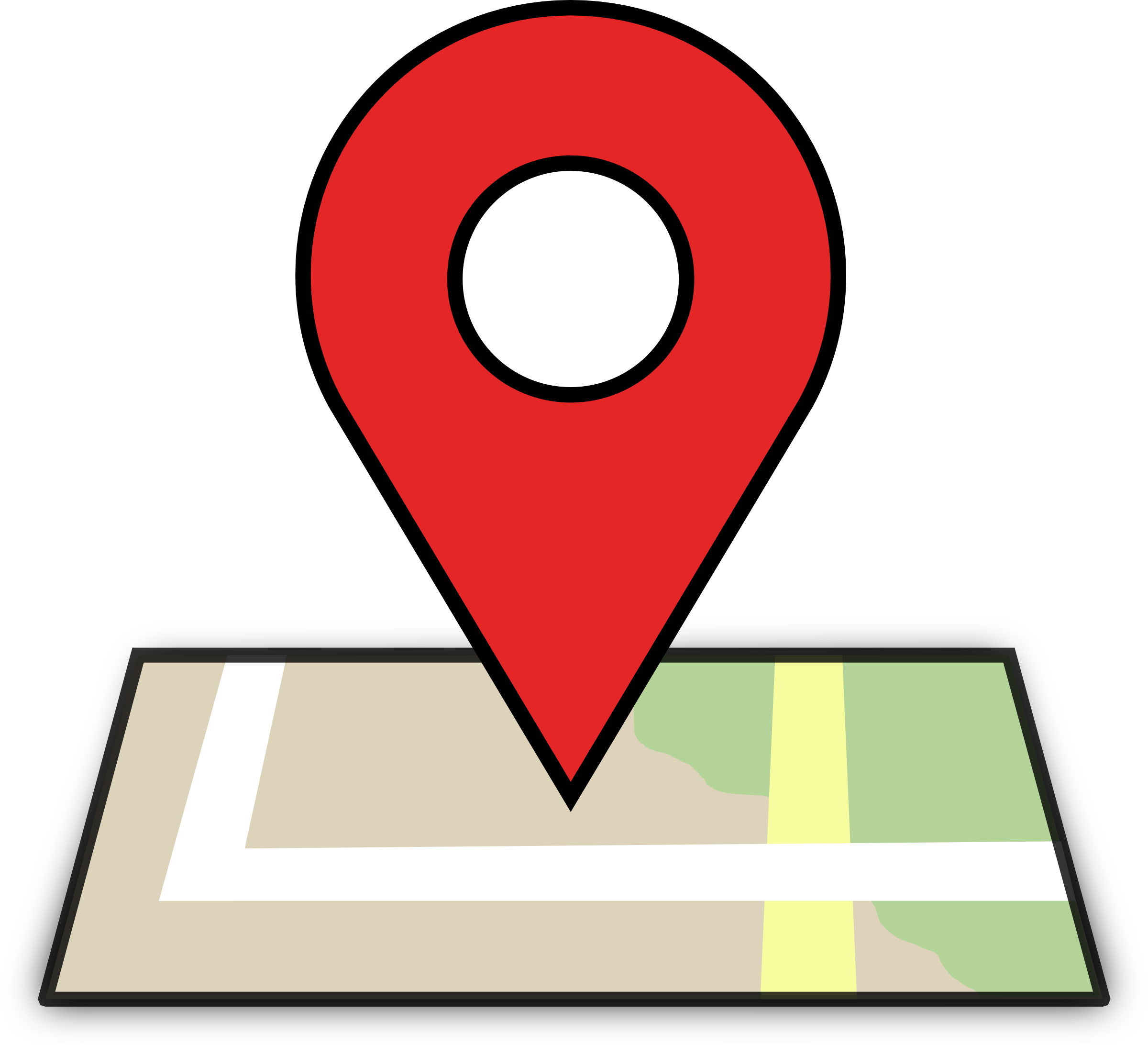 lokasi logo red map location icon map png #25356