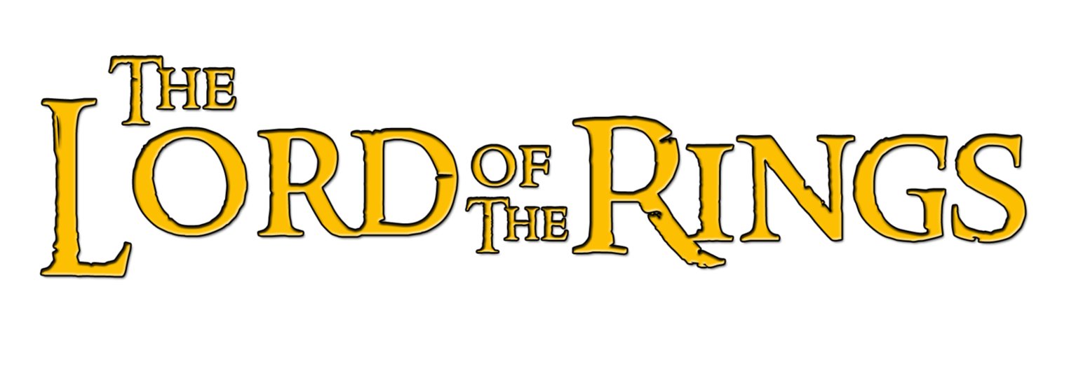 lord of the rings png title logo #6392