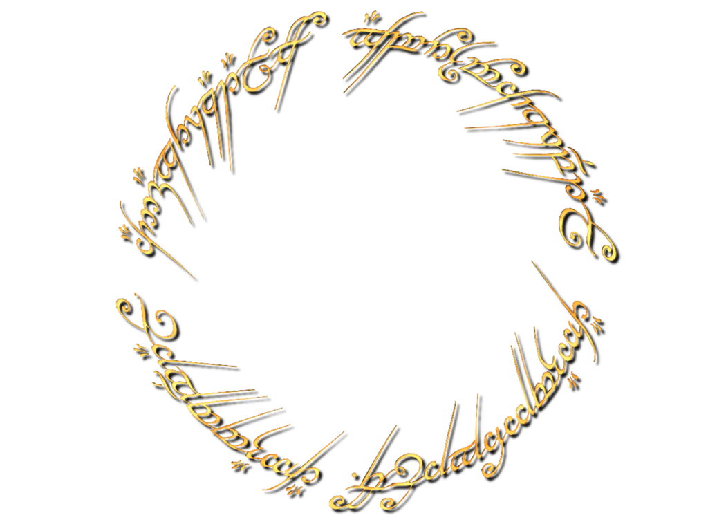 one ring to rule them all png logo #6402