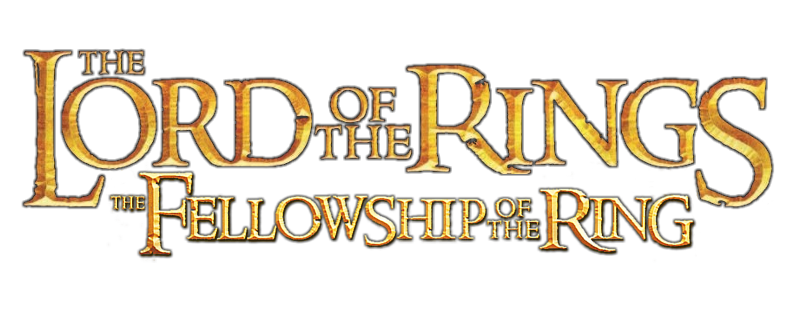 the fellowship of the ring movie png logo #6396