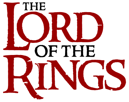 the lord of the rings logo png #6391