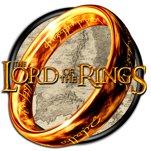 the lord of the rings online png logo #6399